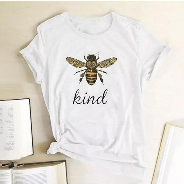 Bee Kind T-Shirts White