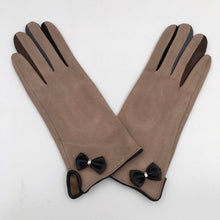 Multi Colour Finger Faux Suede Gloves (3 Colours)