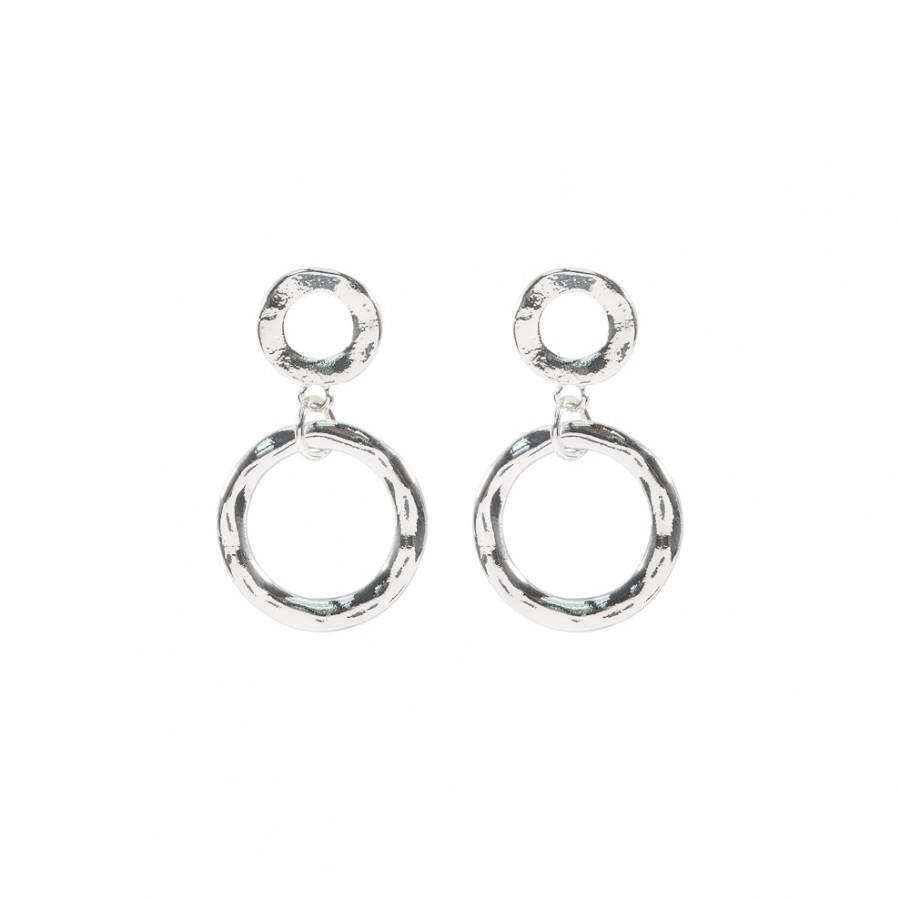 Love The Links Double Circle Earrings (3 Colours)
