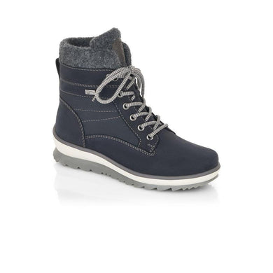 Rieker Ladies Warm Lined Lace Up Boot