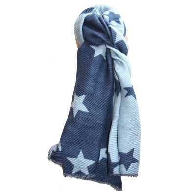 Lua Pleated Star Scarf (5 Colours)