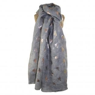 Rose Gold Bees Scarf (2 Colours)