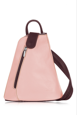 Backpack Soft Leather Two Tone (3 Colours)