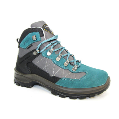 Lunar Lady Excalibur Walking Boot (fully waterproof) Turquoise/Grey