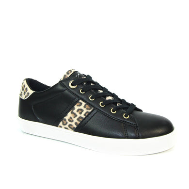 Lunar Kitty Ocelot Print Trainer