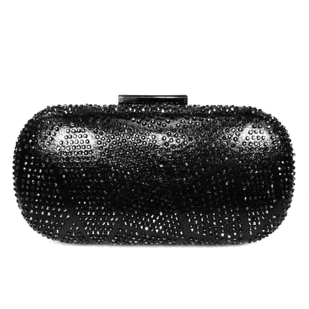 Gemstone Clutch Lunar Francie Black