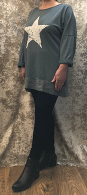 Star Tunic Top (4 Colours)