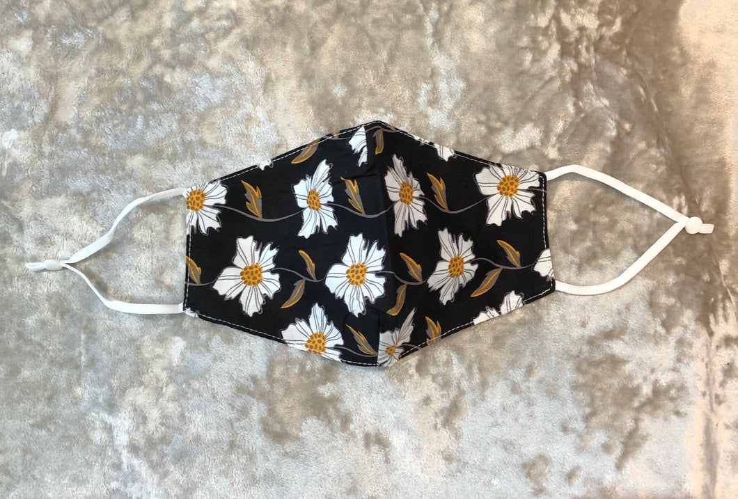 Face Mask Daisy Design