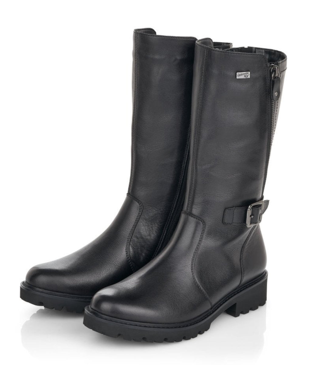 Remonte mid calf Tex Leather Boot