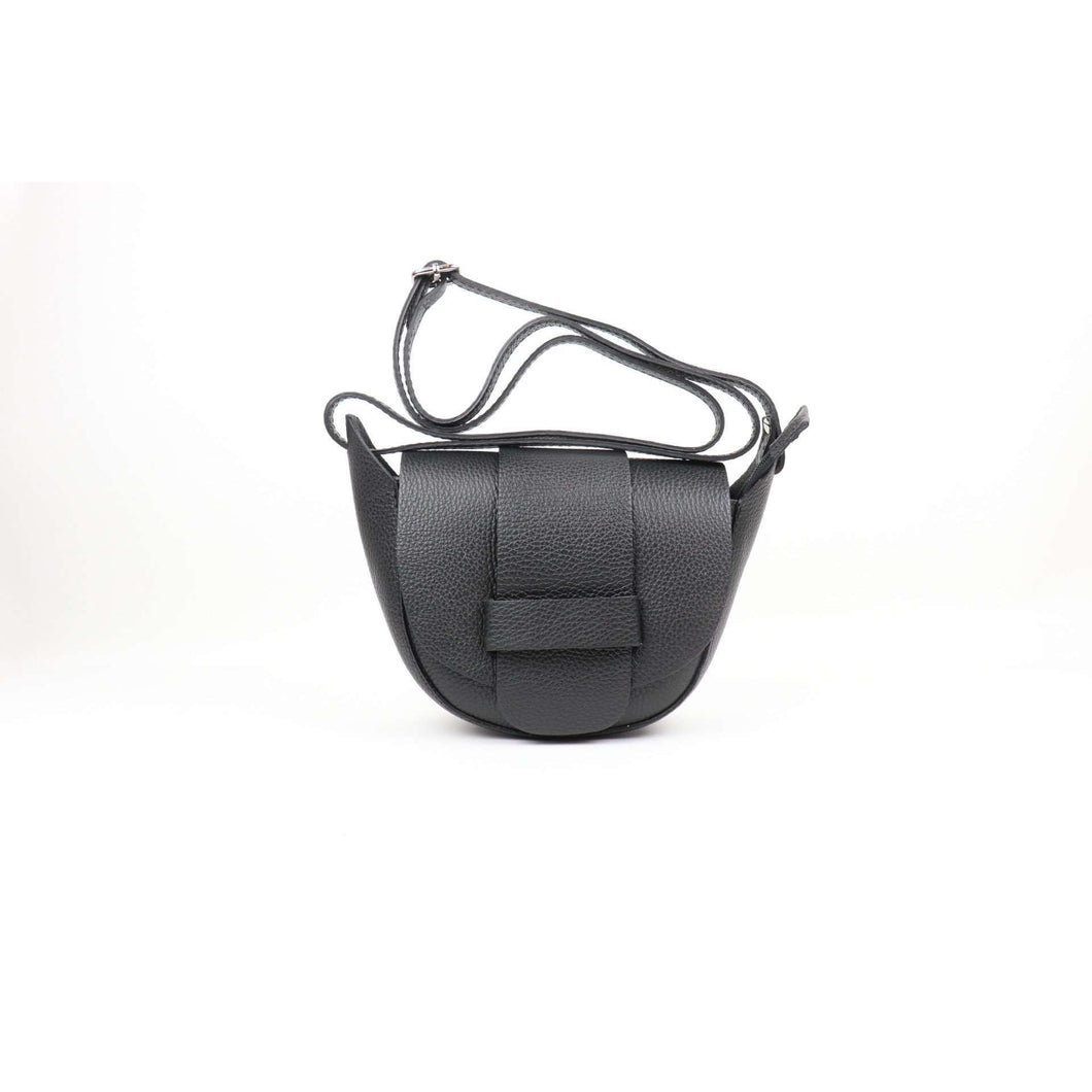 Leather Flap-Over Crossbody (5 Colours)