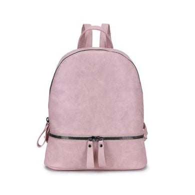 Backpack Mottled Faux Leather Look (Available In 2 colours)