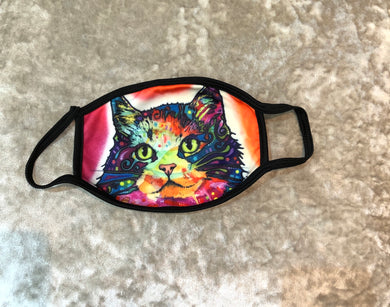 Face Mask Multi Cat Design