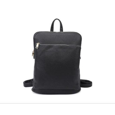 Backpack With Front Zip Pocket