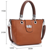 Missy Grab Bag With Front Faster Detail (6 Colours)