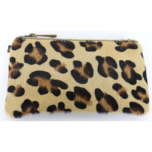 Leather Bag Mini Pouch Animal Print Wristlet (4 Prints)