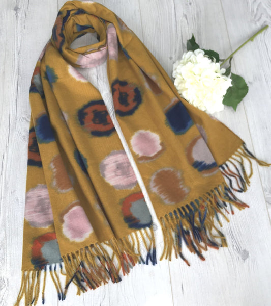 Multicoloured spot scarf (2 Colours)
