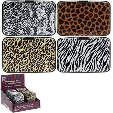 Credit Card Holder Rfid Animal Print (4 Prints)
