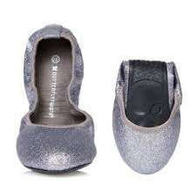 Ballet Pump Butterfly Twists Samantha Pewter Sparkle