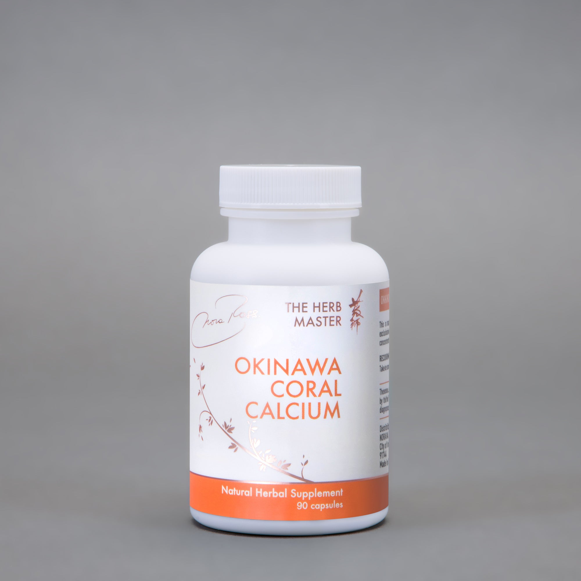 Okinawa Coral Calcium – Easy to Take, Designed for Women, High Quality Calcium with Vitamin D and Magnesium by Nora Ross