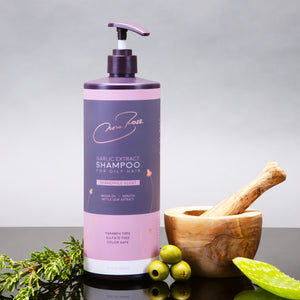 New! Paraben and Sulfate Free Garlic Extract Shampoo For Oily Hair