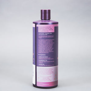 New! Paraben and Sulfate Free Garlic Extract Shampoo For Normal to Dry Hair
