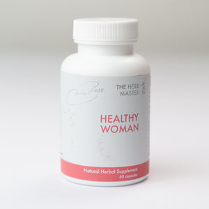 Healthy Woman – Once a Day Capsule, 100% Natural Herbal Extracts, Restore Balance and Focus, Reduce Hair Loss by Nora Ross