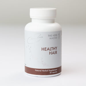 Healthy Hair Plus – 12 Full Spectrum Extracts, with He Shou Wu Extract and Ginseng for Hair Growth and Scalp Health by Nora Ross