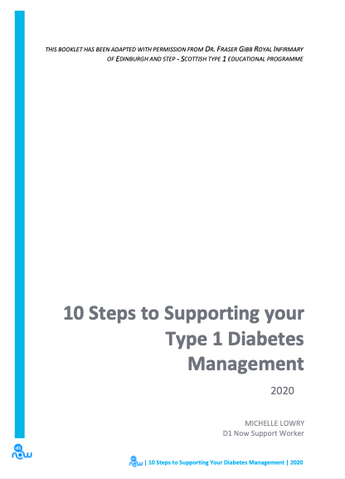 10 Steps to Supporting Your Type 1 Diabetes Management