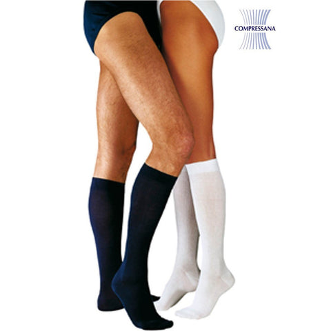 Compressana Twist Support Below Knee Socks - Sieden