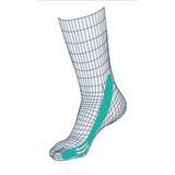 Compressana Tape Sox Type Pes Valgus (Pronation Control) - Sieden