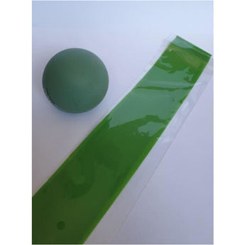 Lacrosse Ball/Simple Exercise Band Combo