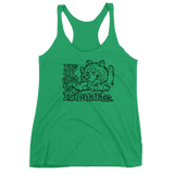 It's all about the Malamute Ladies' Triblend Racerback Tank - Alaskan Malamute