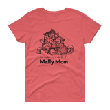 Alaskan Malamute Day in the Life Mally Mom Cotton T-Shirt