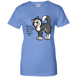 No Bad Days - Alaskan Malamute Ladies T-Shirt