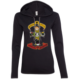 Kitties Rock Guns N Roses - Cats, Kitty Ladies Lightweight Hoodie