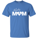 Husky Mom- Siberian Huskies - T-Shirt