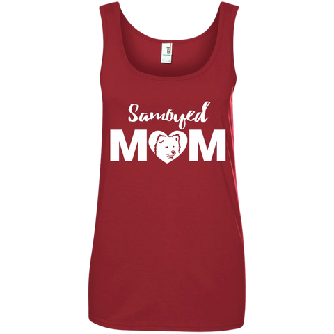 Samoyed Mom - Dog Ladies Tank Top