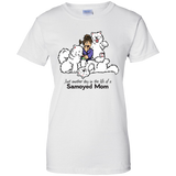 Life of a Samoyed Mom - Ladies T-Shirt