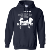 My Dog is Not a Wolf, My Dog is a Malamute - Pullover Hoodie