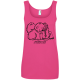 Good Friends Samoyed Ladies Tank Top
