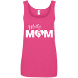 Mally Mom - Alaskan Malamute Ladies Tank Top