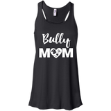 Bully Mom - Pitbull Terrier - Flowy Racerback Tank