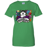 Snow Life Graffiti - Alaskan Malamute Ladies T-Shirt
