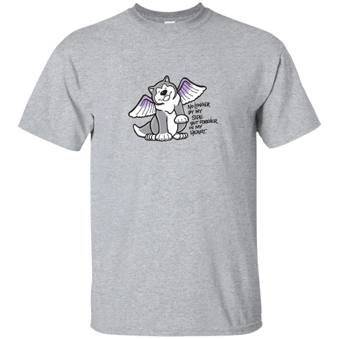 Forever in my Heart Malamute - Alaskan Malamute Cotton T-Shirt