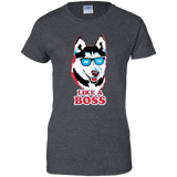 Like a Boss Husky Ladies T-Shirt