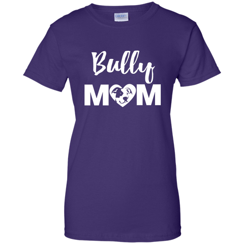 Bully Mom - Pitbull Terrier - Ladies T-Shirt