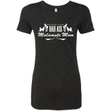 Bad Ass Malamute Mom - Alaskan Malamute - Ladies Triblend T-Shirt