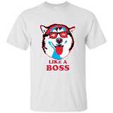 Like a Boss Malamute Softstyle T-Shirt