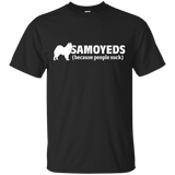 Samoyeds (because people suck) Softstyle T-Shirt