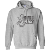 Malamute Life Never a Dull Moment -  Pullover Hoodie